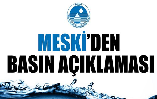 MESKİ Duyurdu! Mut İlçesi'nde Sel Nedeniyle Uygulanan Zorunlu Su Kesintisi Sona Erdi