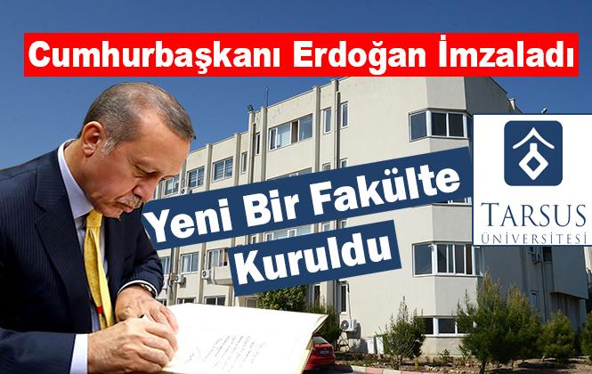 Mersin Tarsus Üniversitesinde Uygulamalı Bilimler Fakültesi Kuruldu