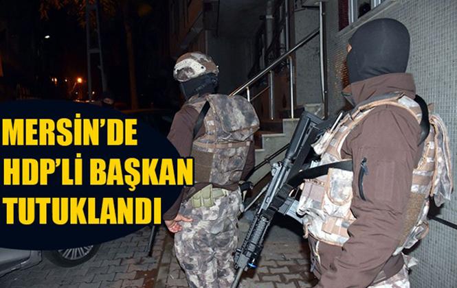 HDP Mersin Yenişehir İlçe Başkanı Ömer Doğan Tutuklandı