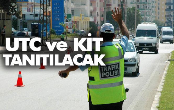 Mersin'de Trafik Kontrollerinde, Uyuşturucu Test Cihazı ve KİT