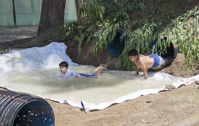 Tarsus Gençlik Kampı'nda Survıvor Heyecanı