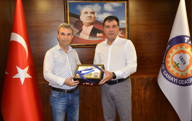 Karabük KUSİ heyetinden Tarsus TSO ziyareti