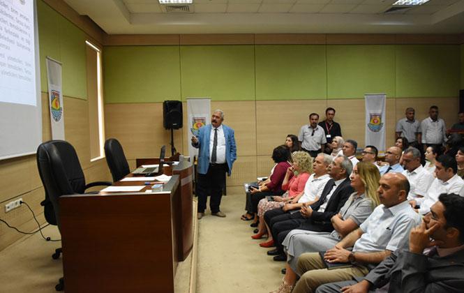 Tarsus Belediyesinde, Personele İş Sağlığı ve Güvenliği Eğitimi