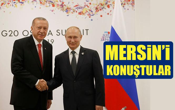 Cumhurbaşkanı Recep Tayip Erdoğan ve Putin Mersin Akkuyu Nükleer Santralini Konuştular