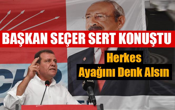 Vahap Seçer CHP Mezitli Kongresinde Konuştu