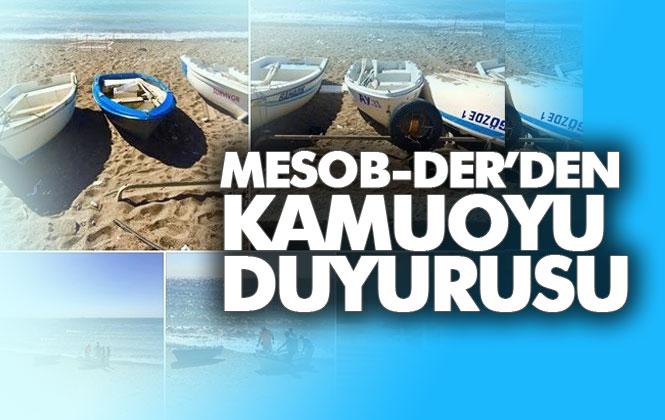 MESOB-DER'den Toplanan Tekneler Hakkında Kamuoyu Duyurusu