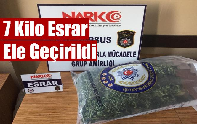 Mersin Tarsus'ta 7 Kilo Uyuşturucu Elegeçirldi