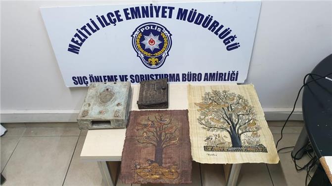 Mersin Mezitli'de Tarihi İncil Ele Geçirdi