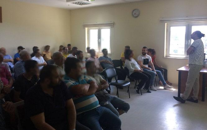 """Tarsus'ta Denetimli Serbestlik Yükümlüleri """"Aile Eğitimine"""" Katıldı"""