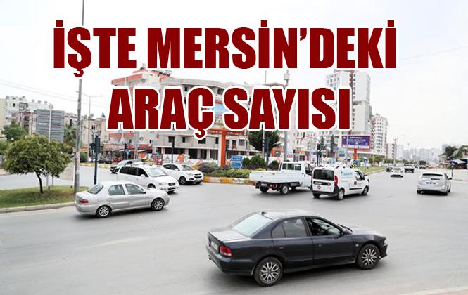 Mersin'de Trafiğe Kayıtlı Araç Sayısı Belli Oldu