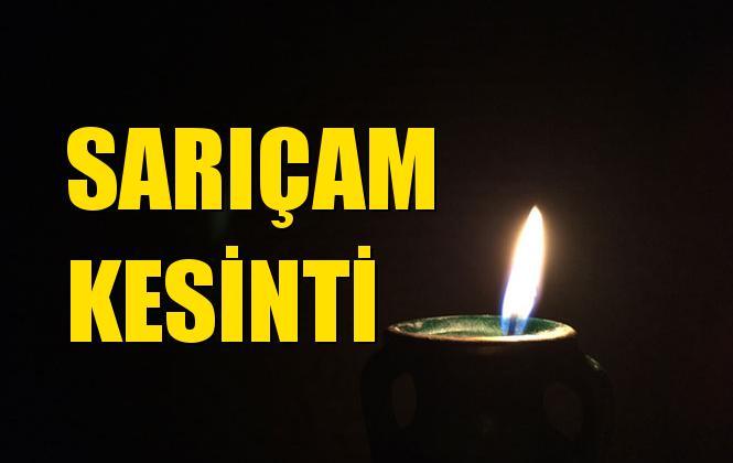 Adana Sarıçam Elektrik Kesintisi 07 Temmuz Pazar