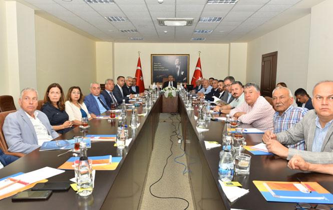 Uluslararası Turunçgil Kongresi Genel Bilgilendirme Toplantısı Vali Su Başkanlığında Gerçekleştirildi