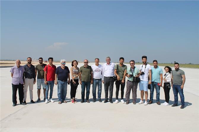 Çukurova Bölgesel Havalimanına İlk Test Uçuşu Gerçekleştirildi