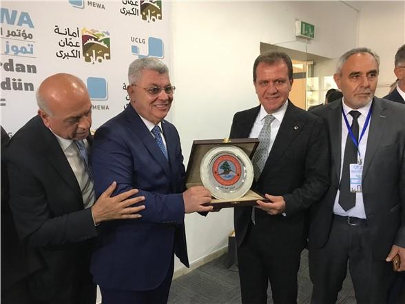 Başkan Seçer, Ürdün'de Mersin'i Temsil Etti