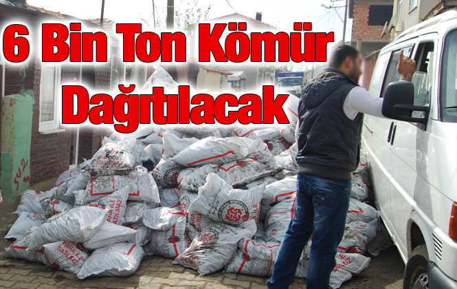 Mersin Tarsus'ta Bu Yıl 6 Bin Ton Kömür Yardımı Yapılacak