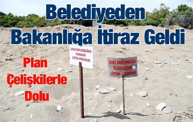 Mezitli Belediyesi, Çevre Bakanlığının Davaltepe 100. Yıl Plajı Planına İtraz Etti