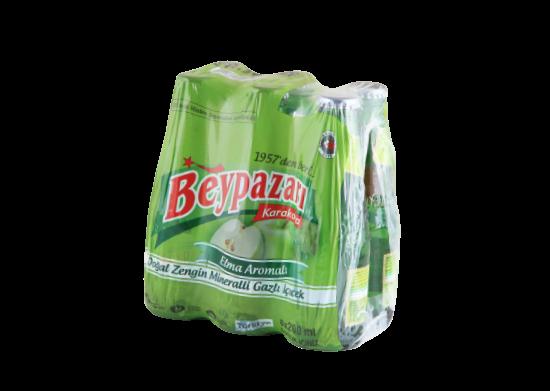 Elma Aromalı Doğal Zengin Mineralli Gazlı İçecek Beypazarı 6x200 ml