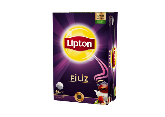Filiz Demlik Poşet Çay Lipton 48 adet