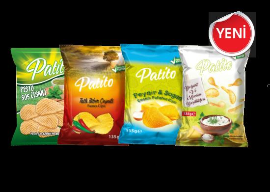 Patates Cipsi Patito 135 g