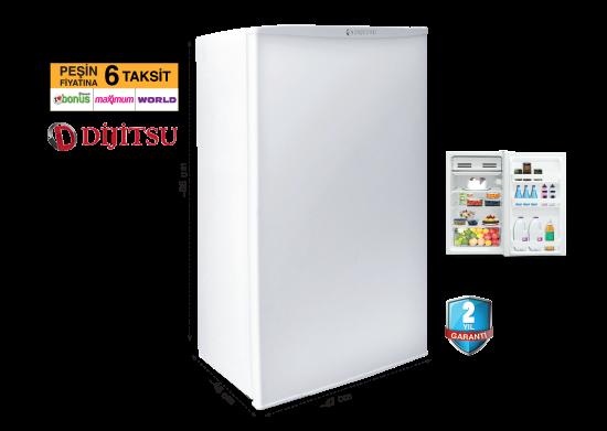 Dijitsu Tezgah Altı Mini Buzdolabı