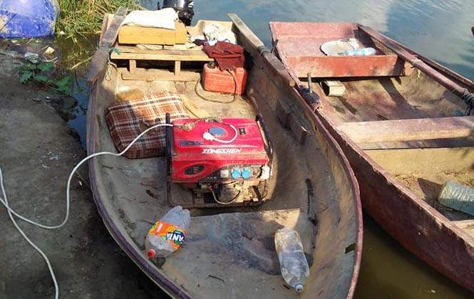 Mersin'in Tarsus İlçesinde Jandarma ve Sahil Güvenlik Ekipleri Balıklara Elektrik Vererek Katliam Yapanları Yakaladı