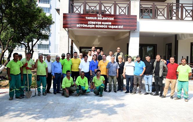Mersin Tarsus İlçesinde Belediye Tarafından Yapımı Tamamlanan, Zübeyde Hanım Bütünleşik Gündüz Yaşam Evi Açılıyor