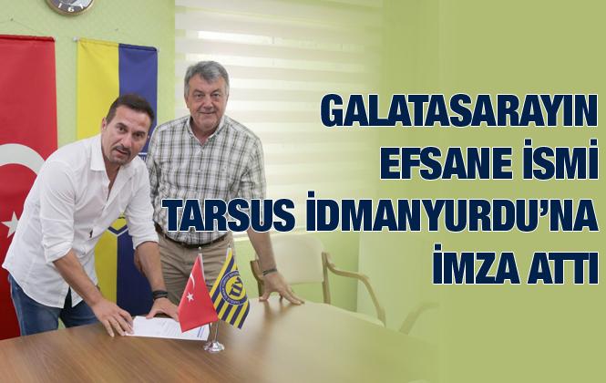 Galatasaray'ın yıldız ismi Ergün Penbe Tarsus İdmanyurdu'na imzayı attı