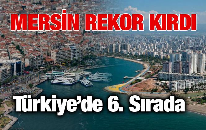 Mersin Konut Satısında Türkiye'de Altıncı Sırada Yer Aldı