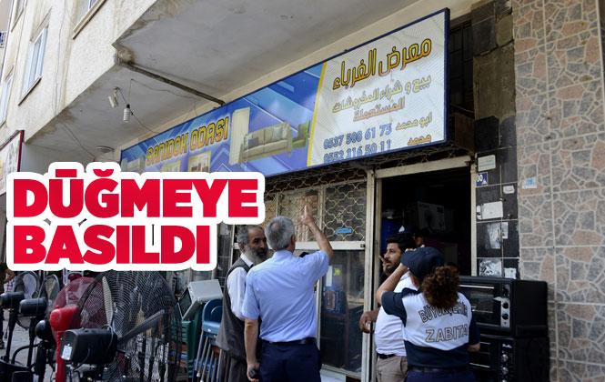 Mersin'de Arapça Tabelada Değişim İçin Düğmeye Basıldı! Arapça Tabelalar Türkçeleşiyor