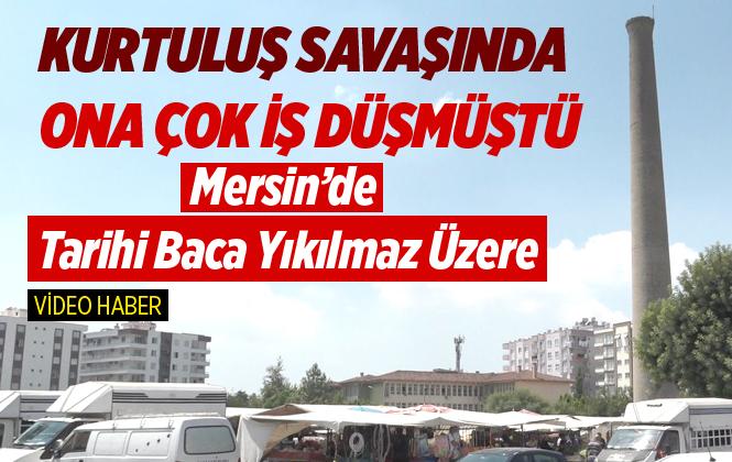 Mersin Tarsus'ta Tarihi Baca Yıkılmak Üzere