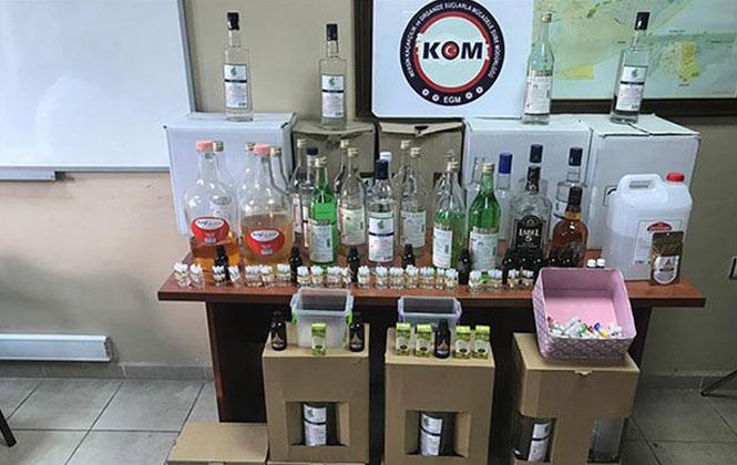 Emniyet, Metil Alkol Üretici ve  Satıcılarına Operasyon Düzenledi