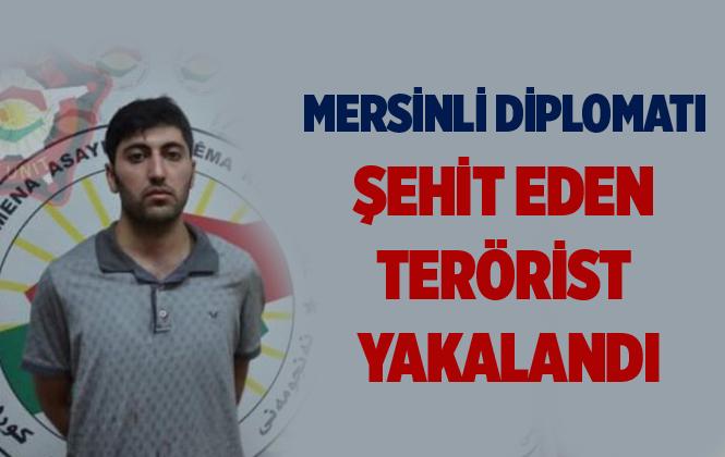 Erbil'de Mersinli Diplomat Osman Köse'yi Şehit Eden Mazlum Dağ Yakalandı