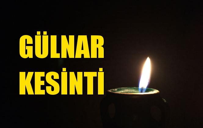 Gülnar Elektrik Kesintisi 21 Temmuz Pazar