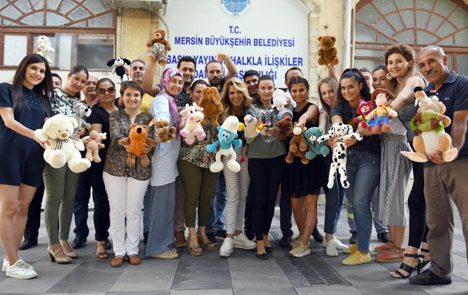 Büyükşehir'den Oyuncak Kampanyası! Mersin'de Oyuncaksız Çocuk Kalmasın!