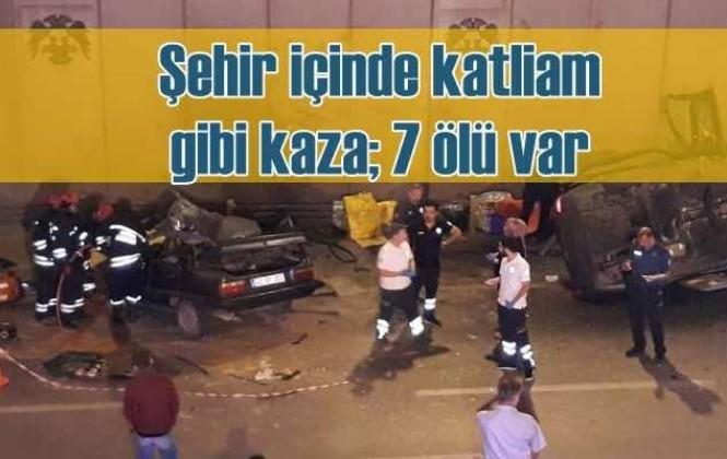 Konya' da Feci Kazada 7 Kişi Hayatını kaybetti