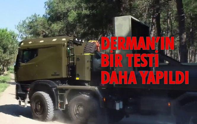 Mersin'de Üretilen Derman'ın Motor Soğutma ve Performans Testi Yapıldı, Üretici Firma Koluman Testi Paylaştı