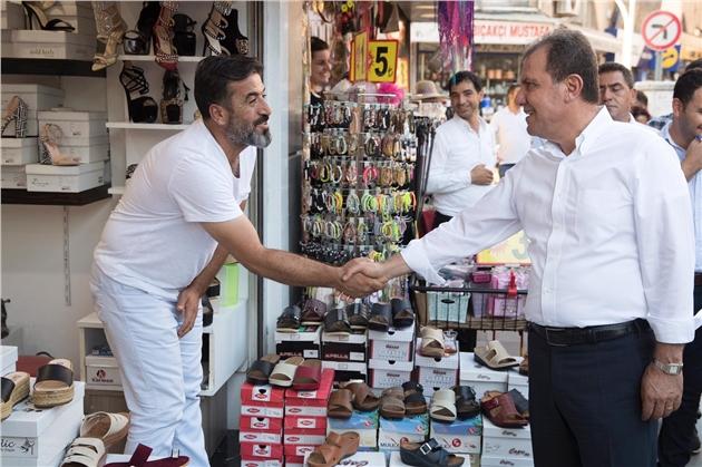 """Mersin Büyükşehir Belediye Başkanı Seçer: """"Mersin'in Merkezini Canlandıracağız"""""""