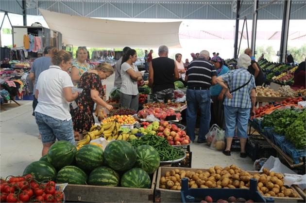 Mersin'de Limonlu'ya Yeni Pazar Yeri
