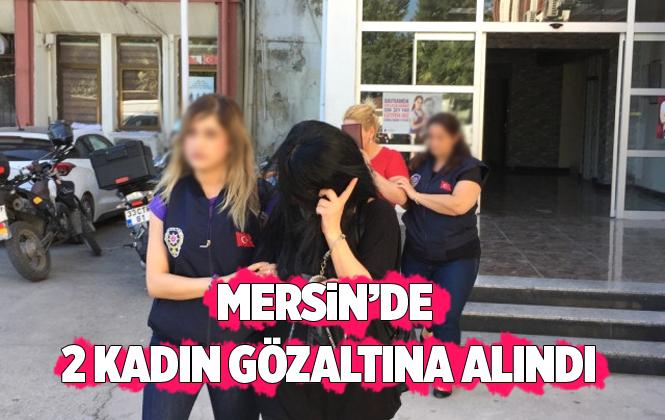 Mersin Tarsus'ta Uyuşturucu Operasyonu 2 Gözaltı