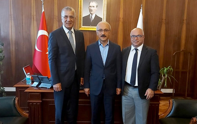 Mezitli'nin Kalkınması ve Gelişmesi İçin Ankara'da Ziyaretlerde Bulunan, Başkan Tarhan Ankara'dan İyi Haberlerle Döndü