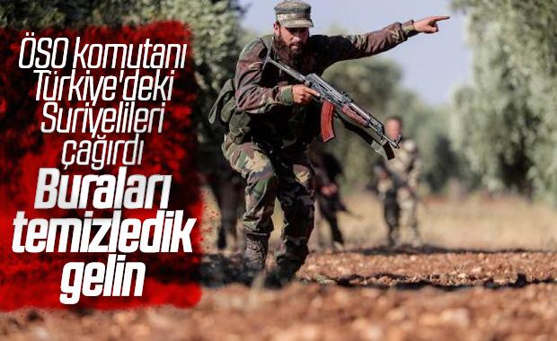 ÖSO'dan Türkiye'deki Suriyelilere 'Geri Dönün' Çağrısı