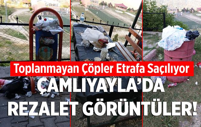 Mersin Çamlıyayla'da Çöplerin Zamanında Toplanmaması Tepkilere Neden Oluyor