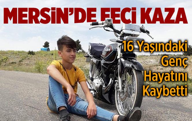 Mersin Karayakup Mahallesinde Traktör Kazasında Enver Özdemir Hayatını Kaybetti