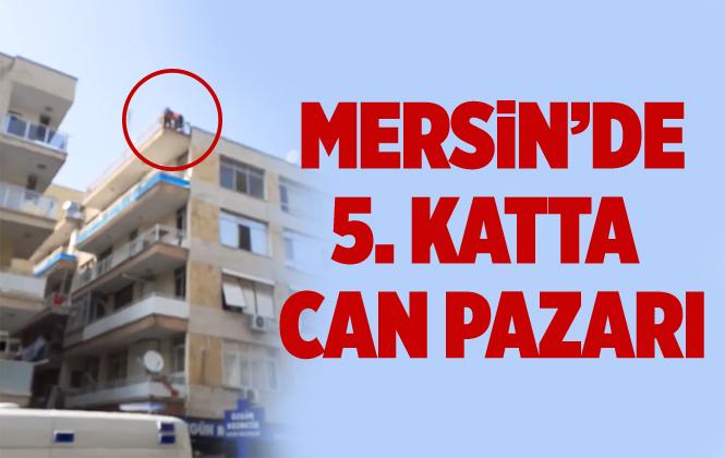 Mersin'de Bir Kişi 5. Kattan İntihara Kalkıştı