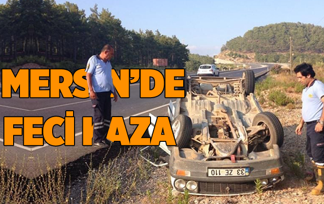 Mersin Bozyazı'da Feci Kazada 2 Kişi Yaralandı