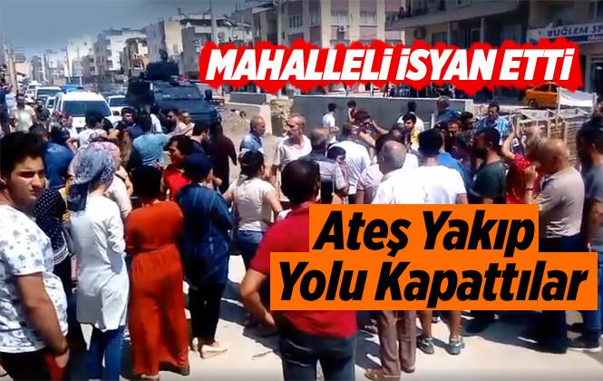 Mersin'de Dere İsyanı Gelinlik Yaktırdı, Yol Kapattırdı