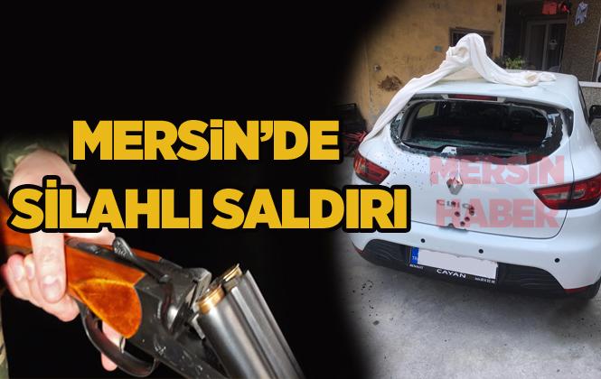 Mersin Tarsus'ta Park Halindeki Araca Silahlı Saldırı