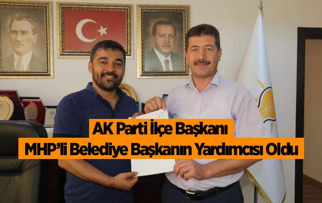 Ak Parti Erdemli İlçe Başkanı Mehmet Topçu, Erdemli Belediye Başkan Yardımcısı Oldu