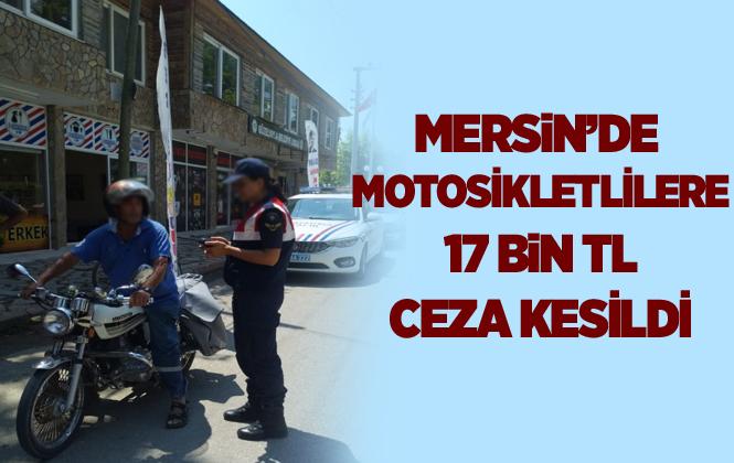 Mersin'de Jandarma Trafik Ekipleri Çalışmasıyla Göz Dolduruyor