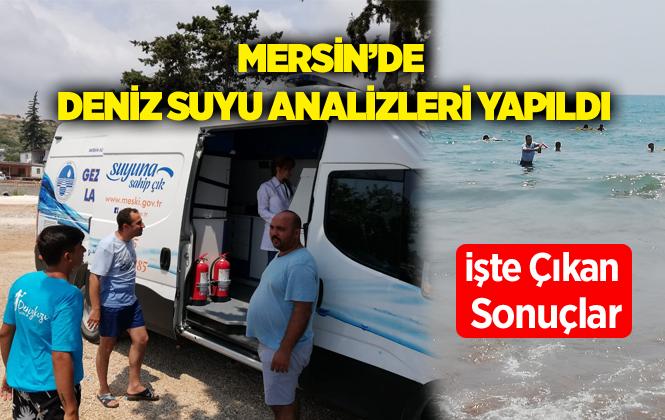Mersin'de 11 Gözde Plajda Deniz Suyu Temiz Çıktı